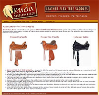 Leather-Flex tree Saddles in the UK
